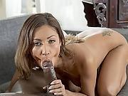 Hunky Black Stud Destroyed Jade Jantzens Pussy