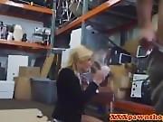 Pawnbroker amateur facialized