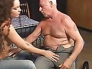 Old Video Young Girl Old Man