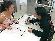 Yuri Honma Enjoys Savage Dick Into Her Taut Snatch