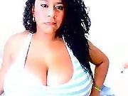 hat ,  latina,  preggo,  webcam