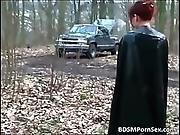 bdsm,  bondage,  dress,  fetish,  leather,  redhead