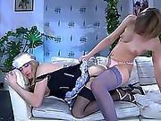 action,  anal,  femdom,  fucking,  girl fucks guy,  hardcore,  maid,  pussy,  stocking,  strapon,  toys,  transvestite,  uniform