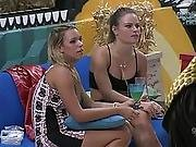 Big Brother Brazil - Nath�lia And Friend Smoking