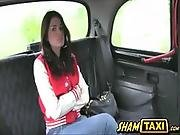 Unfriendly Teen Ava Received A Fuck Punishment Inside The Cab