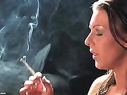 Smoking Fetish (who Is This Woman)