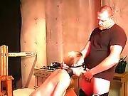 bdsm,  blonde,  bound,  fetish,  slave,  submissive