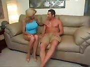 Hot Mom Gets Big Fake Tits