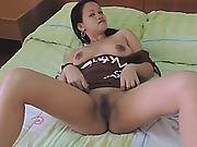 Busty Exotic Slut Is Having Fun With A Loaded Dong Because She Was Craving For Fresh Cum