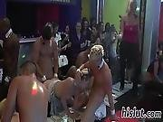 Lusty Bombshells Get Nailed In An Orgy