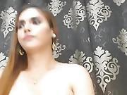 Wicked Lady-boy Masturbating Hard