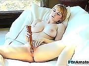 Hot Non-professional Legal Age Teenager With Natural Large Round Marangos Please Her Pink Twat With Sex Toy To Climax Hd Porn Vids
