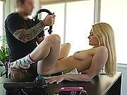 Stripper Teen Blonde Really Needs A Loan Of 500 Dollars