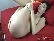 Hot Amateur Anal With Creampie