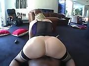 ass ,  big ass,  big black cock,  big tit,  black,  blonde,  dick,  handjob,  hardcore,  interracial,  milf,  pov ,  pussy,  stocking