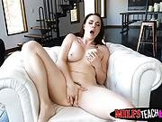 Hot Milf Chanel Gives Ivy Some Tips On Pleasing Her Stepson
