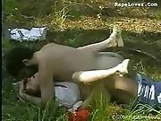 Rape In Forest