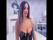 Pov Astonishing Webcam Teen Masterbate P1