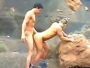 fucking,  gay ,  mountain,  outdoor,  wild