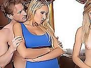 A Threeway With Help From My Stepmum