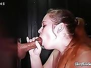Milf Gets Mouth Pumped Full Of Cum