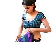 Anamika Indian Bhabhi Sex Changing Saree