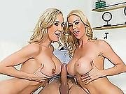 Milf Alexis And Brandi Amazing Threesome Sex