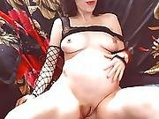 Webcam Pregnant Girl With Big Tits Teasing