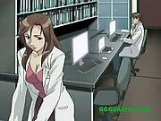 Hot Busty Anime Scientist Goes Horny And Fucks Patient