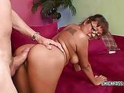 Jasmine Lopez Takes A Cock In Her Latina Twat