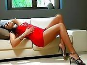 heels,  high heels,  masturbation,  milf,  small tits,  solo,  tattoo,  vaginal