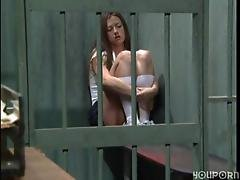 Guard Pleases Prison Brat