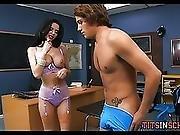 Cougar Teacher Seduces Her Teen Student