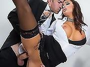 Susy Gala Sucked On A Big Cock In The Glory Hole