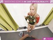 Vrbangers.com Busty Blonde Step Sister Get Her Pussy Rammed By A Young Stud