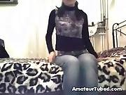 Hot arabian teen masturbation on cam