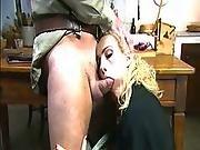 big tit,  dick,  european,  fucking,  hardcore,  italian,  milf,  soldier,  stocking