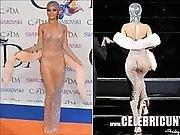 Rihanna Nude Celebrity Shaved Pussy