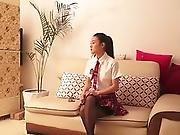Schoolgirl Tied Up