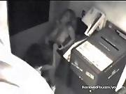 lesbian,  office,  security cam