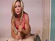 Milf Talks Dirty To Get His Cock Shaft Hardened