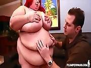 Redhead Ssbbw Jaymez Loves Big Cocks