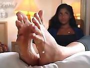 Yoga Cum Toes