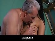 Old Teacher Sex-classes With Teeny Student