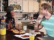Cheating Wife Fucked By House Guest