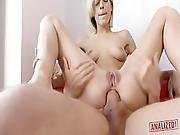 Analized   Cute Blonde Ria Sunn Gets Her Asshole Fucked And Creampied