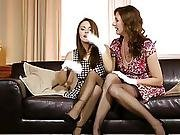 Les Nylons Loving Aged Orally Satisfied