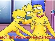 Simpsons Porn #2 Lisa and Marge have fun / Ca