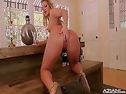 Candice Dare Fingers Her Pussy Till She Cums