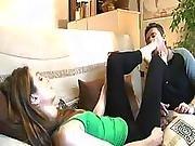 Footfetishattitude French Mistress Gets Feet Worshipped